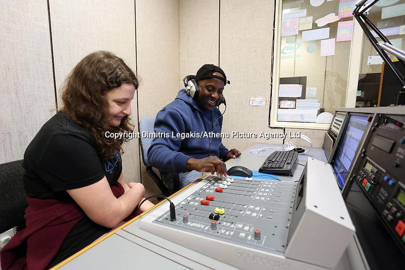 Pictured: Sound recording studio at Trowbridge Campus. Monday 22 September 2014<br />