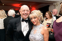 Pictured  at the IHF Ball in the Muckross Park Hotel at the weekend were John Dolan and Caroline Papin from The Gleneagle Hotel.<br /> Photo: Don MacMonagle<br /> <br /> Repro free photo