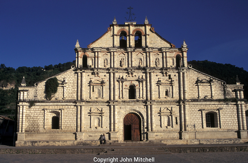 Spanish colonial Church of Saint Francis in Panajachel on Lake Atitlan, Guatemala
