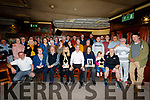 On Thursday evening the Family of Alice O'Sullivan,work Collegues of Kerry Museum and Castle Bar Thursday Card Player attended the launch of the Newc Alice O'Sullivan memorial trophy's in The Castle Bar on Thursday night.