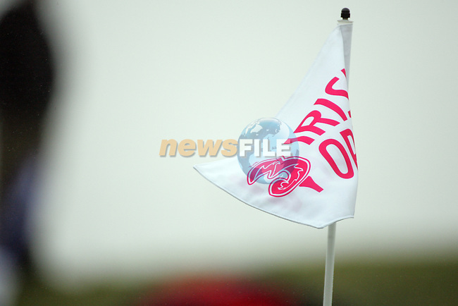the third green flag on the 3rd green during day two of the 3 Irish Open..Pic Fran Caffrey/golffile.ie