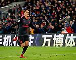 Arsenal's Alexis Sanchez celebrates scoring his sides third goal during the premier league match at Selhurst Park Stadium, London. Picture date 28th December 2017. Picture credit should read: David Klein/Sportimage