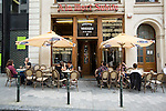 BRUSSELS - BELGIUM - 22 June 2016 -- Brussels city - Cafe Restaurant Mort Subite one of the oldest cafes of Brussels. -- PHOTO: Juha ROININEN / EUP-IMAGES Käyttöoikeus: vain ET brändi