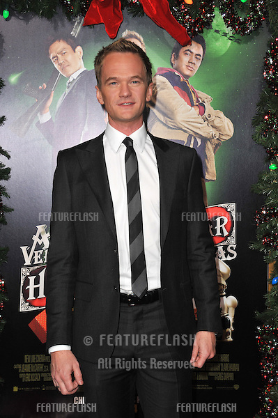 "Neil Patrick Harris at the Los Angeles premiere of his new movie ""A Very Harold & Kumar 3D Christmas"" at Grauman's Chinese Theatre, Hollywood..November 2, 2011  Los Angeles, CA.Picture: Paul Smith / Featureflash"