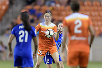 Houston, TX - Saturday July 22, 2017: Janine Beckie during a regular season National Women's Soccer League (NWSL) match between the Houston Dash and the Boston Breakers at BBVA Compass Stadium.