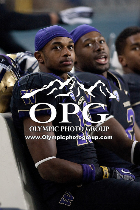 NOV 10, 2012:  Washington's DiAndre Campbell against Utah.  Washington defeated Utah  34-15 at CenturyLink Field in Seattle, WA...
