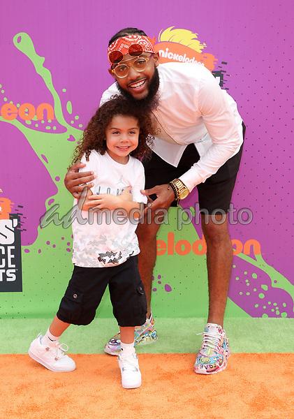 13 July 2017 - Los Angeles, California - Brandon Armstrong. Nickelodeon Kids' Choice Sports Awards 2017 held at Pauley Pavilion. Photo Credit: F. Sadou/AdMedia