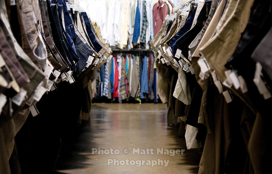 St. Vincent de Paul Thrift Store in Dallas, Texas, Tuesday, March 25, 2008. The thrift store opened about four years ago and all proceeds go to the needy. They hope to earn a profit by next year...PHOTO/ MATT NAGER