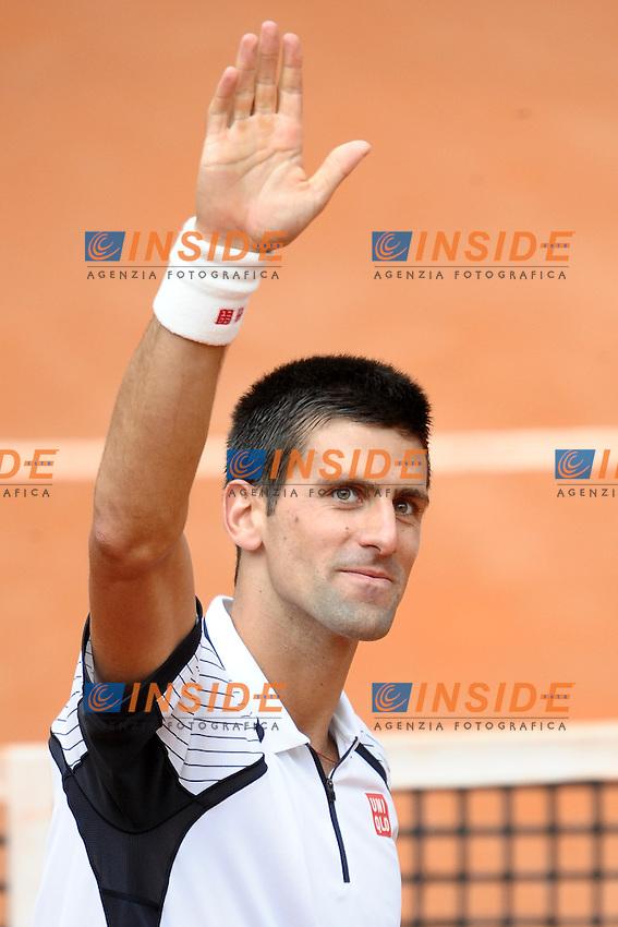 Novak Djokovic.Roma 16/05/2013 Foro Italico .Tennis Internazionali d'Italia 2013 .Foto Antonietta Baldassarre Insidefoto