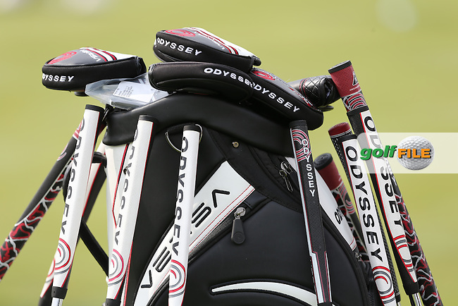 Odyssey putters at the 2013 ISPS Handa Wales Open from the Celtic Manor Resort, Newport, Wales. Picture:  David Lloyd / www.golffile.ie