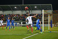 Samuel Barratt Of England C goes close during Slovakia Under-21 vs England C, International Challenge Trophy Football at Mestsky Stadion on 8th November 2017