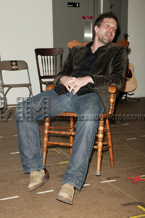 Jeb Brown.Attending the open press rehearsal of the Broadway Premiere of RING OF FIRE which officially opens March 12th, 2006 at the Ethel Barrymore Theatre in New York City..The Musical is a journey into the heartland of America, courtesy of one of the most beloived poets - Johnny Cash..January 11, 2006.© Walter McBride /