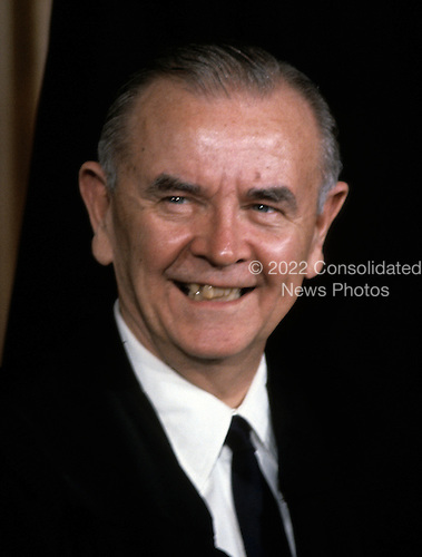 "Associate Justice of the United States Supreme Court William J. Brennan, Jr., photographed at the Supreme Court in Washington, D.C. on Monday, April 24, 1972.  Brennan was appointed in 1956 by U.S. President Dwight D. Eisenhower..Credit: Benjamin E. ""Gene"" Forte / CNP"
