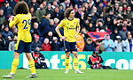 Arsenal's David Luiz looks dejected after Crystal Palace score to make it 1-1 during the Premier League match at Selhurst Park, London. Picture date: 11th January 2020. Picture credit should read: Paul Terry/Sportimage