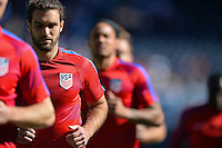 San Diego, CA - Sunday January 29, 2017: Graham Zusi prior to an international friendly between the men's national teams of the United States (USA) and Serbia (SRB) at Qualcomm Stadium.