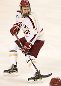Isaac MacLeod (BC - 7) - The visiting Merrimack College Warriors tied the Boston College Eagles at 2 on Sunday, January 8, 2011, at Kelley Rink/Conte Forum in Chestnut Hill, Massachusetts.