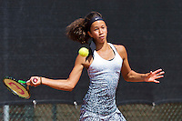 Netherlands, Rotterdam August 05, 2015, Tennis,  National Junior Championships, NJK, TV Victoria,    Dainah Cameron<br /> Photo: Tennisimages/Henk Koster