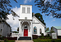 The oldest church building in DeFuniak Springs, St. Agatha's Episcopal Church, was completed in 1896. ..COLIN HACKLEY PHOTO
