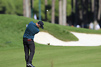 Andy Sullivan (ENG) plays his 2nd shot on the 9th hole during Saturday's Round 3 of the 2018 Turkish Airlines Open hosted by Regnum Carya Golf &amp; Spa Resort, Antalya, Turkey. 3rd November 2018.<br /> Picture: Eoin Clarke | Golffile<br /> <br /> <br /> All photos usage must carry mandatory copyright credit (&copy; Golffile | Eoin Clarke)