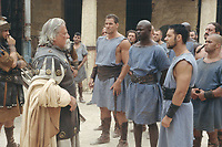 Gladiator (2000)<br /> Russell Crowe, Djimon Hounsou, Oliver Reed &amp; Ralf Moeller<br /> *Filmstill - Editorial Use Only*<br /> CAP/KFS<br /> Image supplied by Capital Pictures