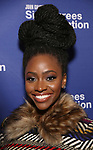 Teyonah Parris attends the Opening Night Performance of 'Six Degrees Of Separation' at the Barrymore Theatre on April 25, 2017 in New York City.
