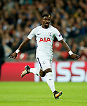 Tottenham's Serge Aurier in action during the champions league match at Wembley Stadium, London. Picture date 13th September 2017. Picture credit should read: David Klein/Sportimage