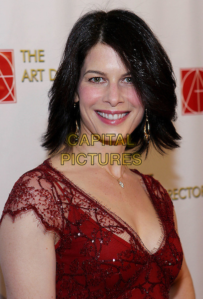 SUSAN FLOYD .13th Annual Art Directors Guild Awards For Excellence In Production Design held at The Beverly Hilton Hotel, Beverly Hills, CA, USA, 14th February 2009..portrait headshot red lace.CAP/ADM/TC.©T. Conrad//Admedia/Capital Pictures