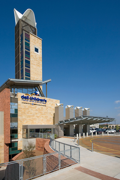 Karlsberger - Dell Children's Hospital Phase Two<br /> Dell Children's Medical Center, Austin Texas<br /> The Dell Children's Hospital was completed in July of 2007 but the landscape and fine-tuning on some of the interiors wasn't completed until June 2008. TBG Partners in Austin designed the surrounding landscape and interior courtyards. The hospital was designed by Karlsberger Planning, Architecture &amp; Design, Columbus Ohio. We spent three days shooting this project - inside and out.