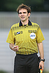 12 September 2013: Assistant Referee Jeremy L.B. Smith. The Duke University Blue Devils hosted the University of Miami Hurricanes at Koskinen Stadium in Durham, NC in a 2013 NCAA Division I Women's Soccer match. Duke won the game 3-0.