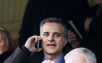 Bristol Rovers Owner & President Mr Wael Al Qadi (Jordanian Qadi Family) during the Sky Bet League 2 match between Wycombe Wanderers and Bristol Rovers at Adams Park, High Wycombe, England on 27 February 2016. Photo by Claudia Nako.