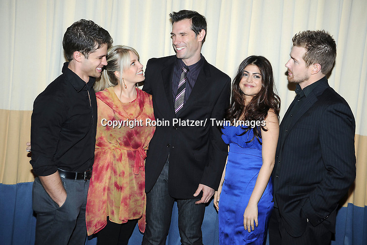 One LIfe to Live cast David Gregory, Terri Conn, Austin Peck, Shenaz Treasurywala and Josh Kellyattending the 26th Annual Starlight Children's Foundation Gala on March 16, 2011 at The Marriott Marquis Hotel in New York City.