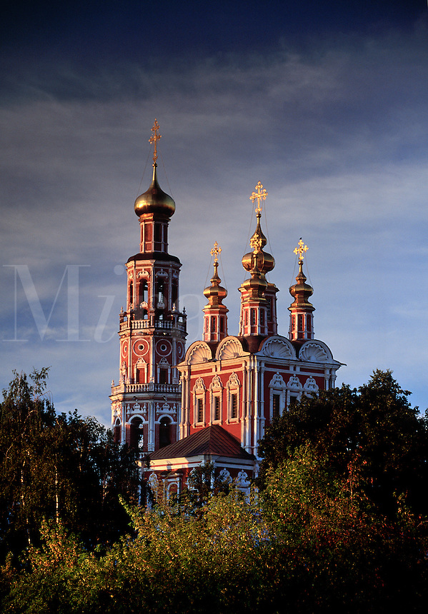 Novodevichy Convent New Maiden s Convent Moscow Russia.