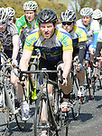 Lenny McManus riding for Drogheda Wheelers in the Coombes Connor Memorial Cycle race. Photo:Colin Bell/pressphotos.ie