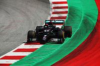 10th July 2020; Styria, Austria; FIA Formula One World Championship 2020, Grand Prix of Styria free practice sessions;  44 Lewis Hamilton GBR, Mercedes-AMG Petronas Formula One Team