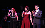 Christiane Noll, Robert Cuccioli and Linda Eder ('Jekyll & Hyde' Reunion)with Billy Jay Stein (at Piano) performing their show 'A New Life' at The Town Hall on October 13, 2012 in New York City.