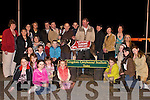 CHAMPION: Ardcul Lady (No 1).Champion dog in the Causeway.Play-School Sweepstake Final at.Kingdom Greyhound Stadium,.Tralee, on Saturday night.