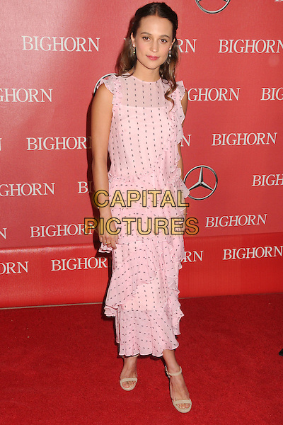 2 January 2016 - Palm Springs, California - Alicia Vikander. 27th Annual Palm Springs International Film Festival Awards Gala held at the Palm Springs Convention Center.  <br /> CAP/ADM/BP<br /> &copy;BP/ADM/Capital Pictures