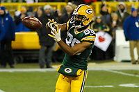 Green Bay Packers wide receiver Michael Clark (89) during a National Football League game against the Minnesota Vikings on December 23rd, 2017 at Lambeau Field in Green Bay, Wisconsin. Minnesota defeated Green Bay 16-0. (Brad Krause/Krause Sports Photography)