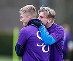06.04.2018 Rangers training:<br /> Ross McCrorie and Jason Cummings