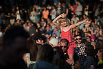 """© Joel Goodman - 07973 332324 . 04/07/2015 . Manchester , UK . Fans at the Castlefield Bowl as part of the """" Summer in the City """" festival in Manchester. Photo credit : Joel Goodman"""