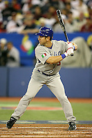 March 7, 2009:  Shortstop Nick Punto (8) of Italy during the first round of the World Baseball Classic at the Rogers Centre in Toronto, Ontario, Canada.  Venezuela defeated Italy 7-0 in both teams opening game of the tournament.  Photo by:  Mike Janes/Four Seam Images