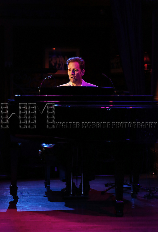 Malcolm Gets previews his show 'Come a Little Closer' at 54 Below on July 10, 2014 in New York City.