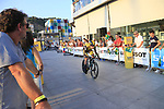Steven Kruijswijk (NED) Team LottoNL-Jumbo during Stage 1 of the La Vuelta 2018, an individual time trial of 8km running around Malaga city centre, Spain. 25th August 2018.<br /> Picture: Ann Clarke | Cyclefile<br /> <br /> <br /> All photos usage must carry mandatory copyright credit (© Cyclefile | Ann Clarke)