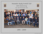 1991 to 2000 Patumahoe Rugby Club 125th Anniversary group photo, June 4th 2011.