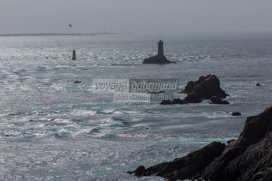 France, Bretagne, (29), Finistère, Cap Sizun, Plogoff: La pointe du Raz //  France, Brittany, Car Sizun, Plogoff: