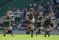 Photo: Matthew Impey/Richard Lane Photography. Newent v Yarnbury. Senior Vase Final at Twickenham. 04/05/2014.