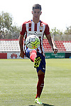 Atletico de Madrid's new player Luciano Vietto during his official presentation. July 9, 2015. (ALTERPHOTOS/Acero)