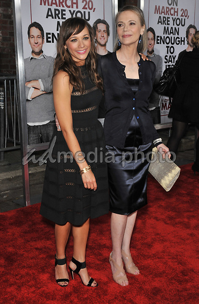 "11 May 2019 - Peggy Lipton, star of 'Mod Squad' and 'Twin Peaks,' ex-wife of Quincy Jones, dies at 72 from cancer. File Photo: Rashida Jones & mother Peggy Lipton at the Los Angeles premiere of her new movie ""I Love You, Man"" at the Mann's Village Theatre, Westwood.<br /> March 17, 2009  Los Angeles, CA. Picture: Jaguar/AdMedia"