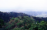 View over Kingston and coastal plain from the Blue Mountains, Jamaica