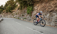 US champion Ruth Winder (USA/Trek-Segafredo)<br /> <br /> 7th La Course by Tour de France 2020 <br /> 1 day race from Nice to Nice (96km)<br /> <br /> ©kramon